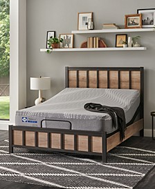 "Posturepedic Hybrid Medina 11"" Firm Mattress Set- Twin"