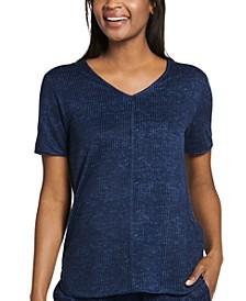 Luxe Lounge Short Sleeve Sleepwear T-Shirt