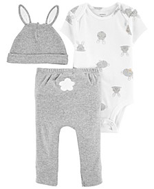 Baby Boys or Girls Easter 3-Pc. Pants Set