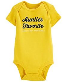Baby Boys or Girls Auntie's Favorite Bodysuit