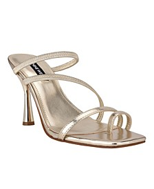 Women's Franie Square Toe Ring Dress Sandals