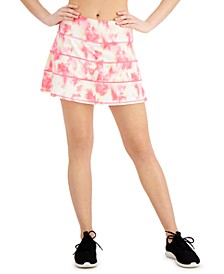 Pleated Tie-Dyed Skort, Created for Macy's