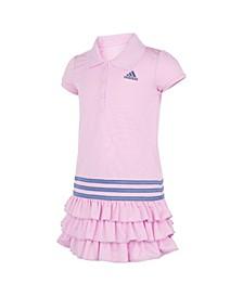 Little Girls Short Sleeve Polo Dress