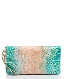 Ombre Melbourne Leather Skyler Clutch