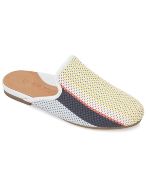 by Kenneth Cole Women's Eugene Woven Slide Flats Women's Shoes