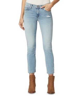 Hudson NICO MID-RISE CROPPED STRAIGHT-LEG JEANS