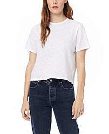 Women's Hayes Slub Cropped T-shirt