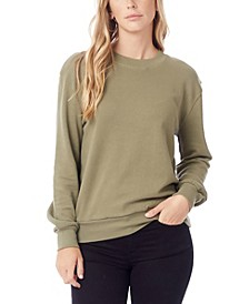 Women's Throwback Washed French Terry Sweatshirt