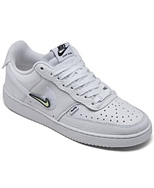 Women's Court Vision Low Casual Sneakers from Finish Line
