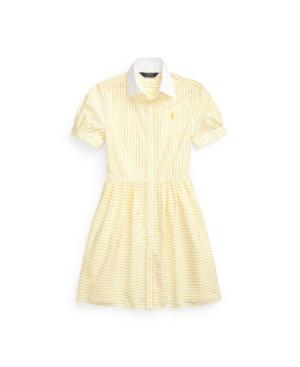 Polo Ralph Lauren Dresses BIG GIRLS STRIPED SHIRTDRESS