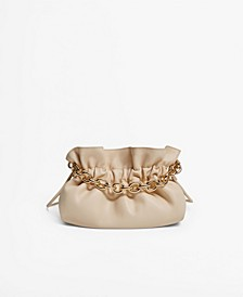 Women's Chain Bucket Bag