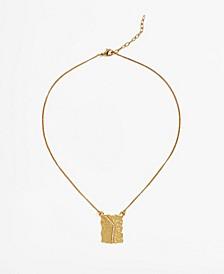 Women's Embossed Necklace