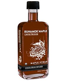 Cocoa Bean Infused Maple Syrup, 250 ml