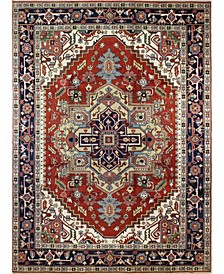"""One of a Kind Indo Herez 9' x 12'3"""" Area Rug"""
