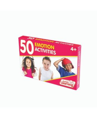 Junior Learning 50 Emotion Educational Activity Cards