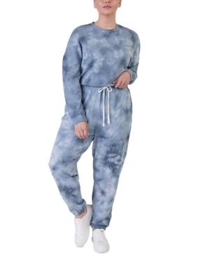 Plus Size Tie-Dyed Jogger Pants