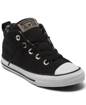 Converse LITTLE BOYS CHUCK TAYLOR ALL STAR STREET CAMO MID CASUAL SNEAKERS FROM FINISH LINE