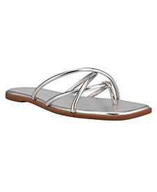Women's Razi Barely There Strappy Thong Sandals