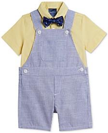 Baby Boys Summer Stripe Shortall Set