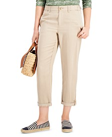 Petite Rolled-Cuff Pants, Created for Macy's