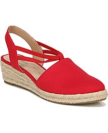 Katrina 2 Espadrille Slip-on Wedges