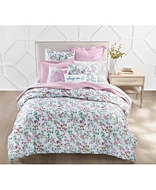 Floral Vines 3-Pc. Full/Queen Comforter Set, Created for Macy's