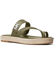 Sidney Toe-Thong Flat Sandals