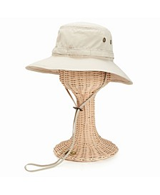 Men's Outdoor Hat with Chin Cord