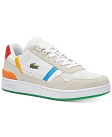 Men's T-Clip Colorblocked Lace-Up Sneakers
