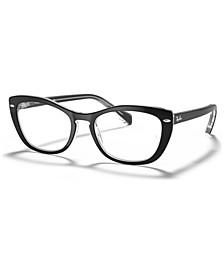 RB5366 Women's Cat Eye Eyeglasses