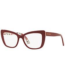 DG3308 Women's Cat Eye Eyeglasses