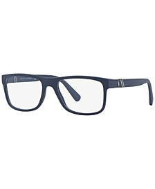 PH2184 Men's Rectangle Eyeglasses