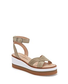 Women's Tarhi Ankle-Strap Wedge Platform Sandals