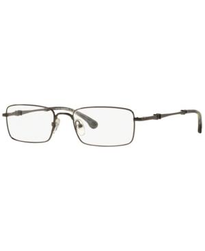 Bb 465 Men's Rectangle Eyeglasses