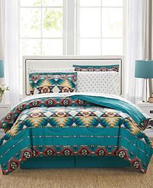 Santa Fe 8-Pc. Reversible Comforter Sets, Created for Macy's