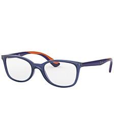 JR RY1586 Child Square Eyeglasses