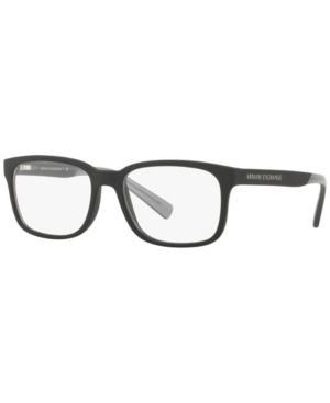 Armani Exchange AX3029 Men's Square Eyeglasses