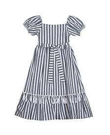 Big Girls Stripe Maxi Dress