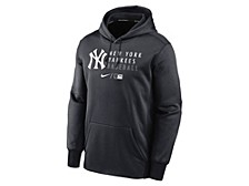 Men's New York Yankees Authentic Collection Dugout Fleece Hoodie