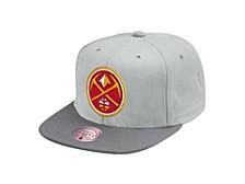 Denver Nuggets Cool Gray Snapback Cap