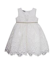 Little Girls Embroidered Dress