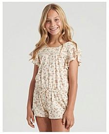 Big Girls Dream Girl Knit Romper