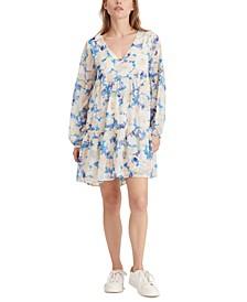 Imagine Floral Printed Babydoll Dress