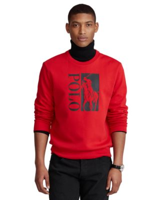 폴로 랄프로렌 Polo Ralph Lauren Mens Big Pony Logo Double-Knit Sweatshirt