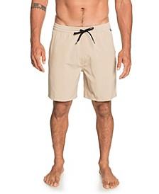 "Men's Union Elastic 18"" Amphibian Boardshorts"