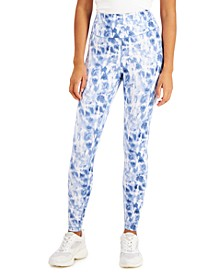 Tie-Dyed Compression Leggings, Created for Macy's