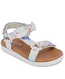Toddler Girls Tie Dye Sandals