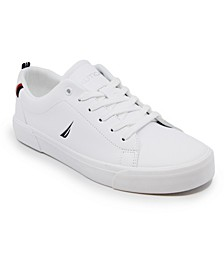 Little Boy Lace Up Court Sneakers