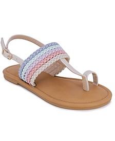 Little Girls Thong Sandals
