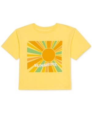 Juniors' Sunshine Graphic-Print T-Shirt
